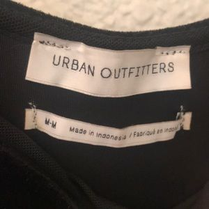 Urban Outfitters Pants - Urban Outfitters Black Velvet Emmabella Jumpsuit